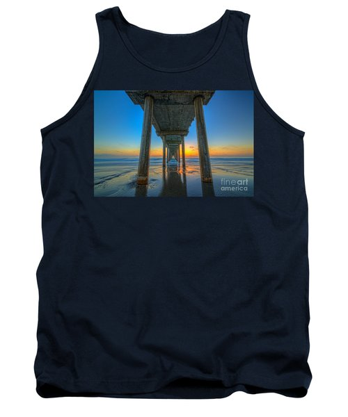 Scripps Pier Sunset Tank Top