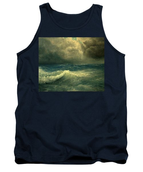 Sea And Sky Tank Top by Mikhail Savchenko