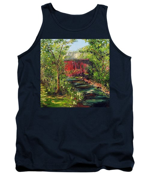 Tank Top featuring the painting Season Of Singing by Meaghan Troup
