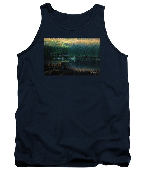 Tank Top featuring the photograph Sedges At Sunset by Cynthia Lagoudakis