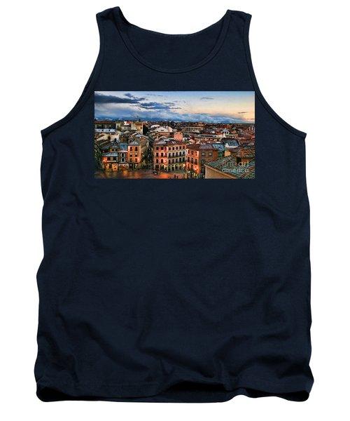 Segovia Nights In Spain By Diana Sainz Tank Top