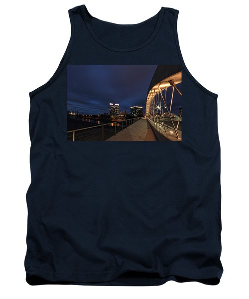 Seventh Avenue Bridge Fort Worth Tank Top