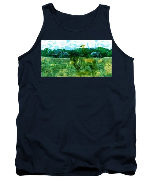Shadows On The Land Tank Top