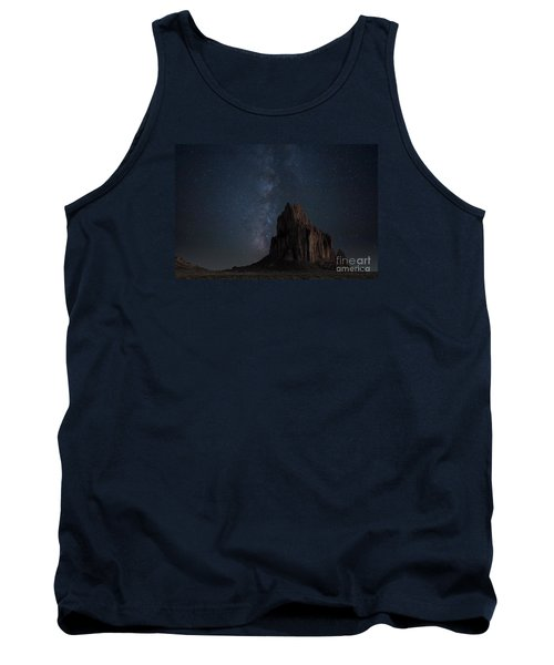 Tank Top featuring the photograph Shiprock by Keith Kapple