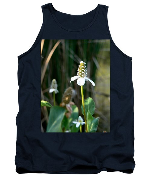 Tank Top featuring the photograph Simple Flower by Laurel Powell