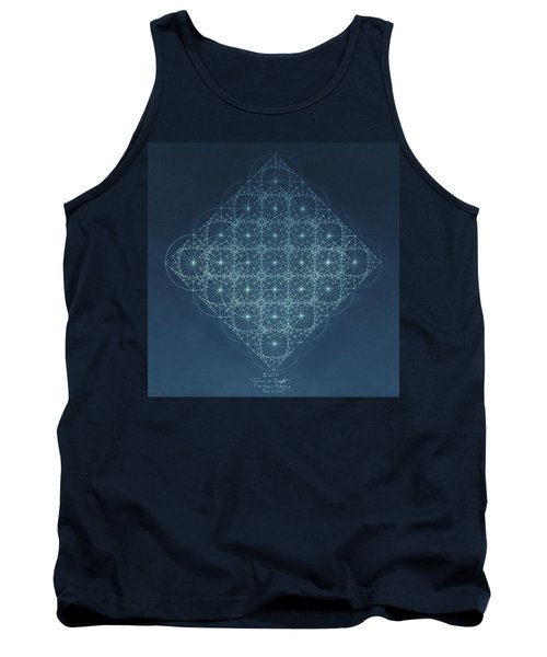 Sine Cosine And Tangent Waves Tank Top