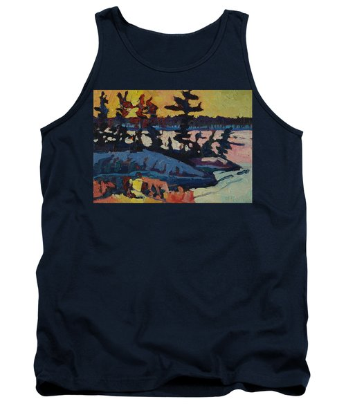Singleton Sunset Tank Top by Phil Chadwick
