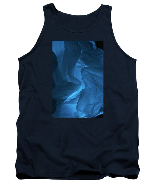 Tank Top featuring the photograph Skc 0247 A Mystery In Blue by Sunil Kapadia