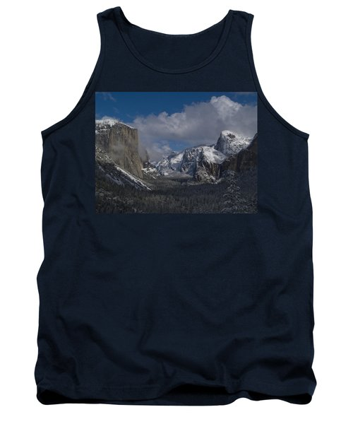 Snow Kissed Valley Tank Top by Bill Gallagher