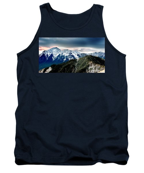 Tank Top featuring the photograph Snow Mountain by Yew Kwang