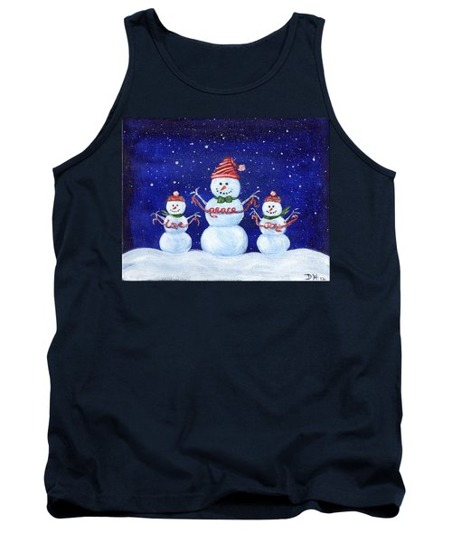 Snowmen Tank Top