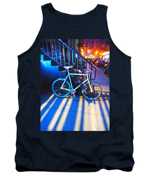 Soho Bicycle  Tank Top by Joan Reese