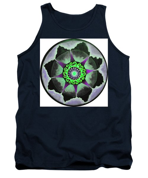 Solar Soul Purple Sky Tank Top