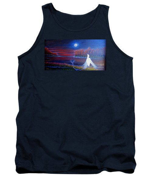 Song Of The Silent Autumn Night Tank Top by Kimberlee Baxter