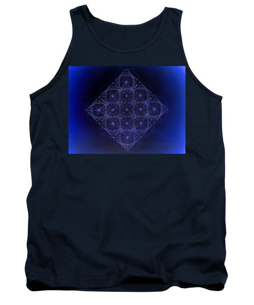 Space Time Sine Cosine And Tangent Waves Tank Top