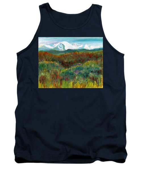 Spanish Peaks Evening Tank Top