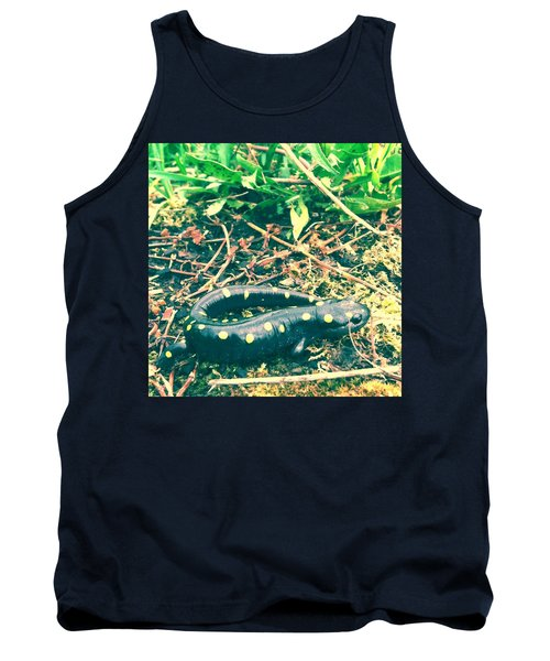 Spotted Salamander Retro Tank Top