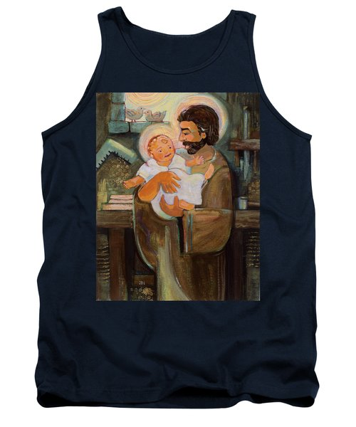 St. Joseph And Baby Jesus Tank Top