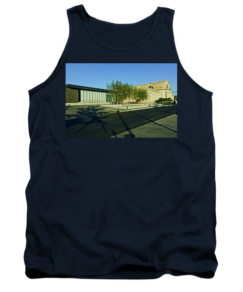 St Louis Art Museum New And Old Tank Top by Greg Kluempers