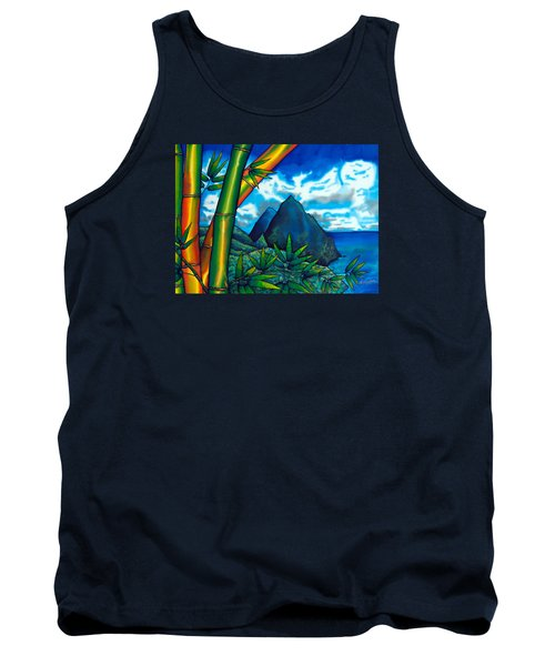 St. Lucia Pitons Tank Top