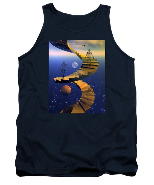 Stairway To Imagination Tank Top