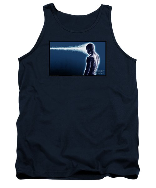 Standing Still Thoughts Proceeding Tank Top