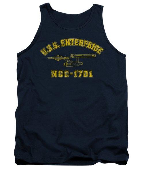 Star Trek - Enterprise Athletic Tank Top