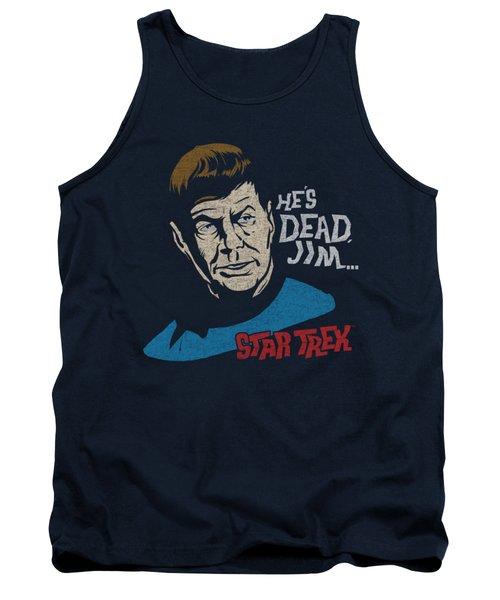 Star Trek - He's Dead Jim Tank Top