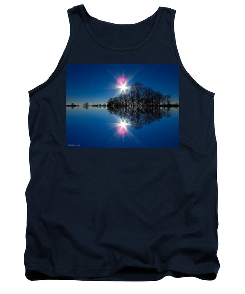 Starflection Tank Top by Nick Kirby