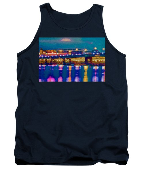 Starry Night At Nationals Park Tank Top