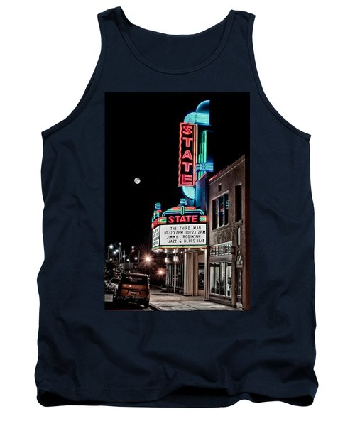 State Theater Tank Top by Jim Thompson