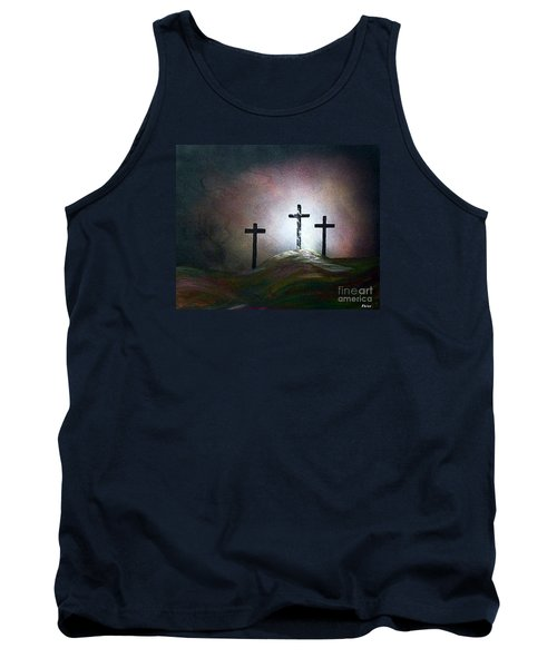 Tank Top featuring the painting Still The Light by Eloise Schneider