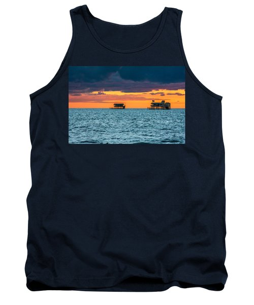 Stiltsville Sunrise  Tank Top