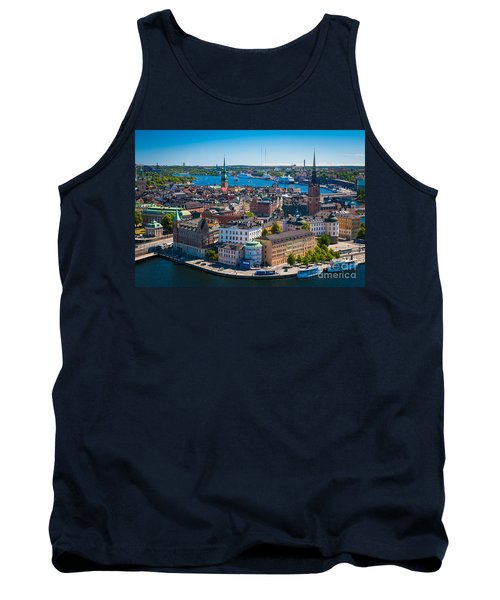 Stockholm From Above Tank Top