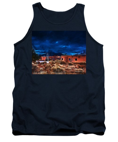 Storm Over Taos Lx - Homage Okeeffe Tank Top