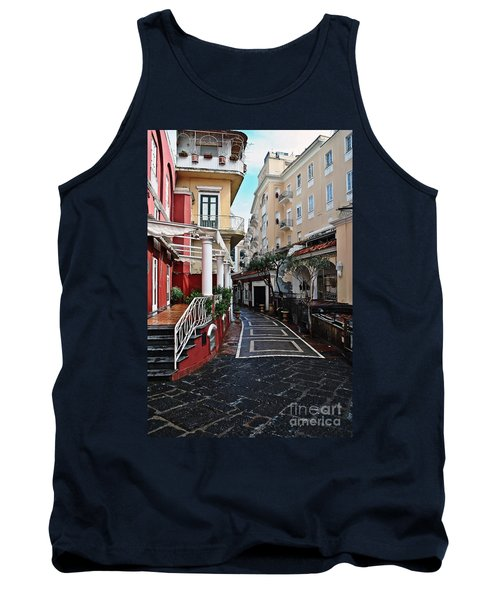 Street Of Capri Tank Top
