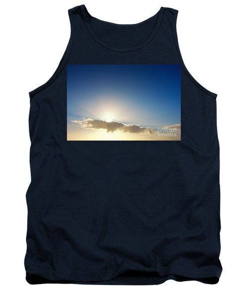 Sunbeams Behind Clouds Tank Top