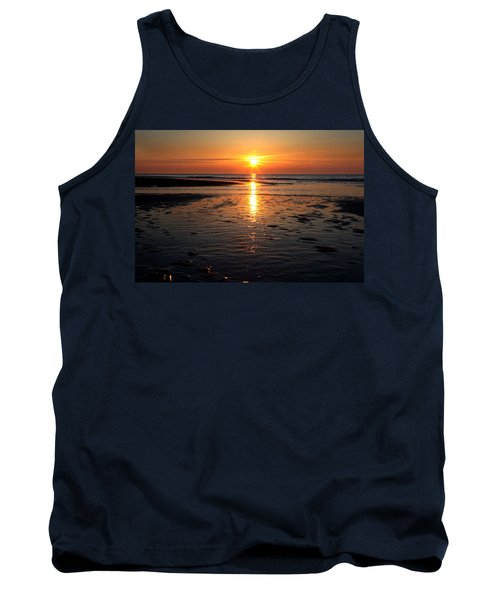 Sundown At The North Sea Tank Top