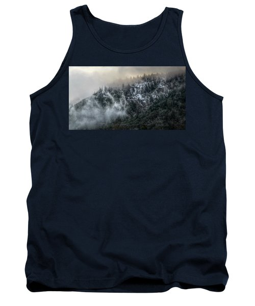 Tank Top featuring the photograph Sunrise In The Clouds by Melanie Lankford Photography