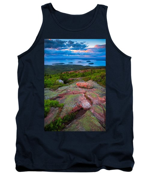 Sunset At Cadillac Mountain Tank Top