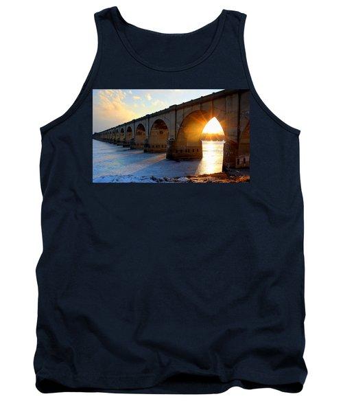 Sunset Bridge Tank Top