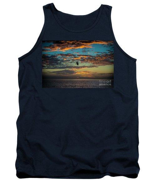 Sunset Dive Tank Top
