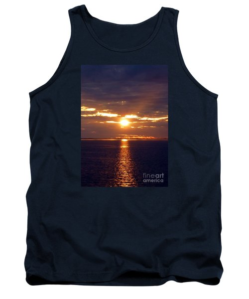 Sunset From Peace River Bridge Tank Top