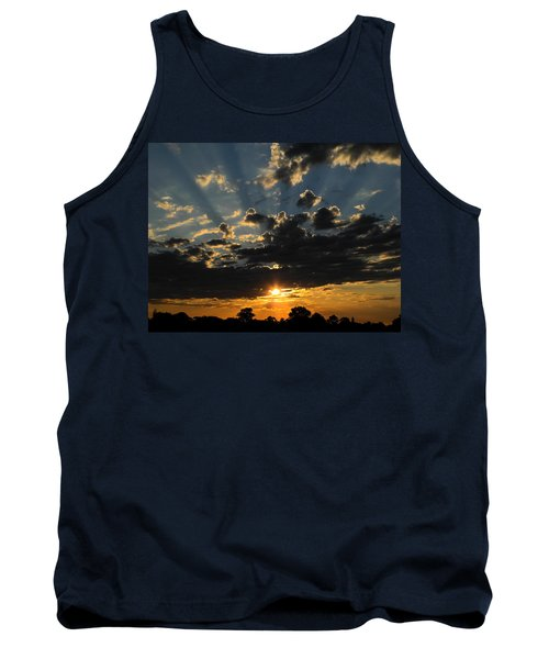 Dark Sunset Tank Top