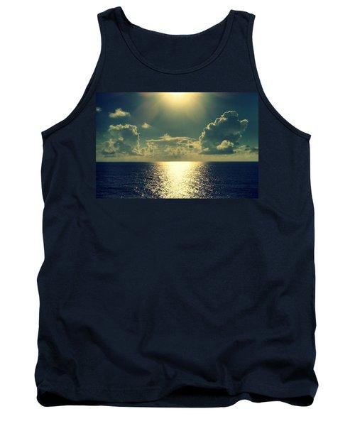 Sunset On The Atlantic Ocean Tank Top