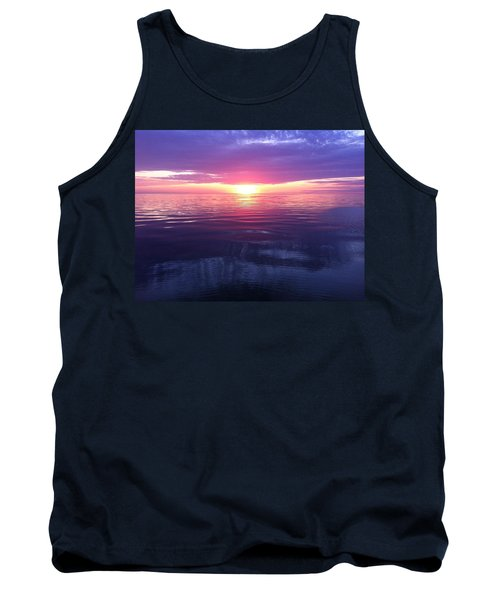 Tank Top featuring the photograph Sunset On The Bay by Tiffany Erdman