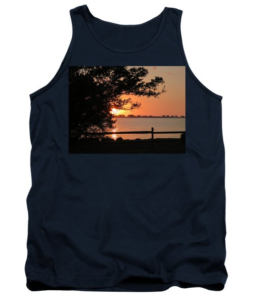 Sunset On Sarasota Harbor Tank Top