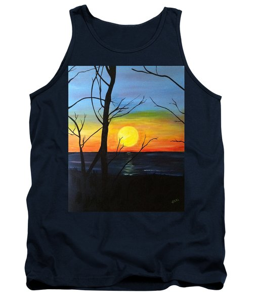 Sunset Through The Branches Tank Top