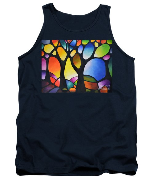 Sunset Trees Tank Top