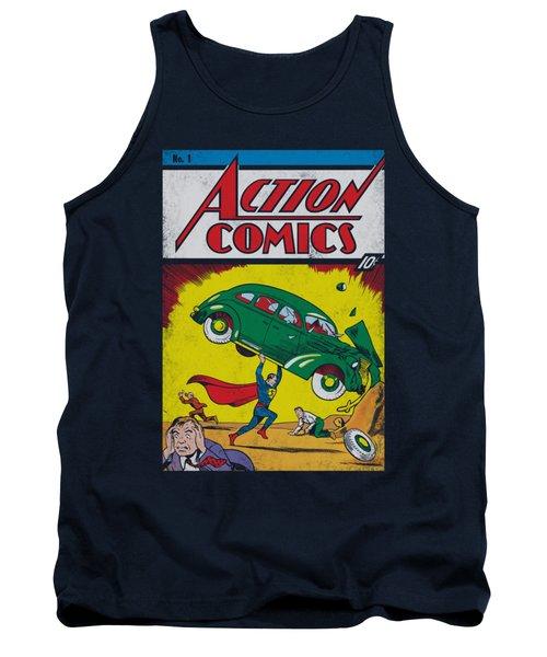 Superman - Action No. 1 Tank Top